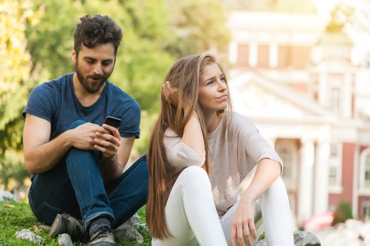 4. Your Significant Other Checks Out Emotionally While on Social Media