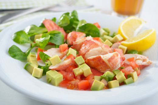 9. Lobster, Mango and Avocado Salad