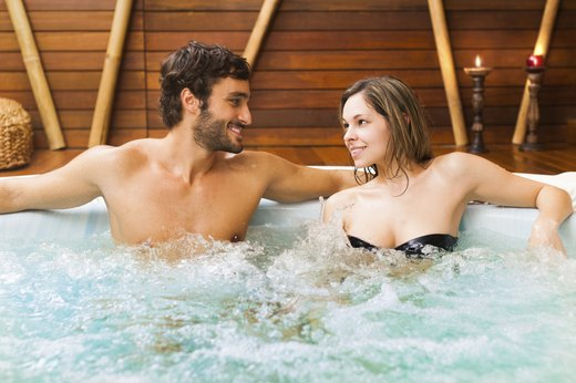MYTH #3: Hot tubs are full of harmful bacteria.
