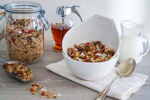 8. Bake a Batch of Wholesome Granola