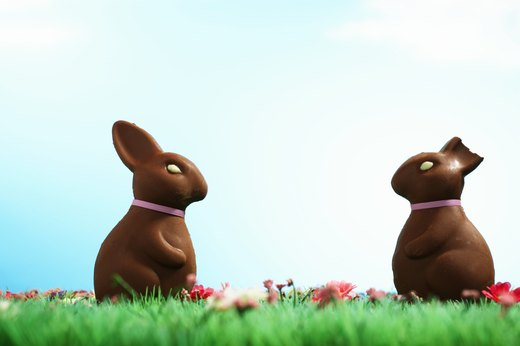BEST: Hollow Chocolate Bunnies