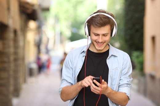 9. Happy People Listen to Music