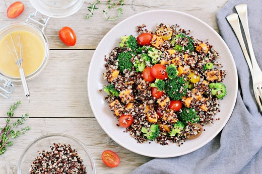 5. Quickie Quinoa Summer Salad