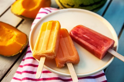 10. Fabulous Frozen Fruit Bars
