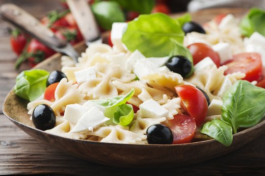 4. Whole-Grain Pasta Salad With Veggies