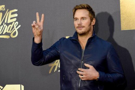 7. Chris Pratt: Scones