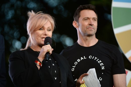 11. Hugh Jackman and Deborra-Lee Furness