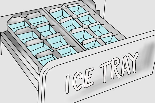 Refilling Ice Cube Trays
