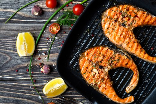 4. Grilled or Baked Salmon