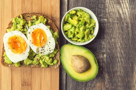 5. Eat a protein-rich breakfast.