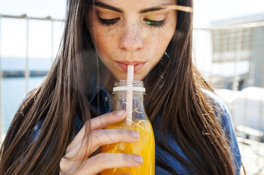 6. Drink Orange Juice After a Fatty Meal