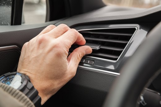 3. Recirculate the Air in Your Car