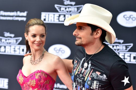 3. Kimberly Williams and Brad Paisley