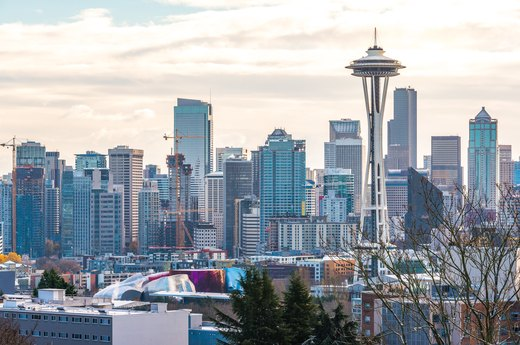 10. Least Overweight: Seattle, Washington