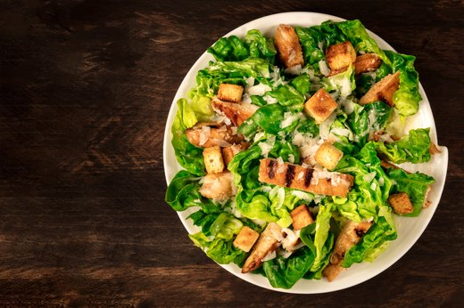 6. Chicken Caesar Salad