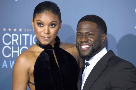 17. Kevin Hart and Eniko Parrish