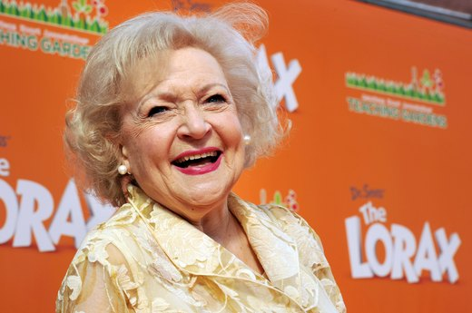 9. Betty White