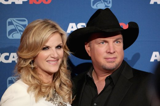2. Trisha Yearwood and Garth Brooks