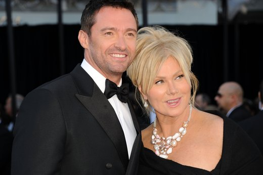 2. Hugh Jackman and Deborra-Lee Furness: Meditation Improves Connectivity