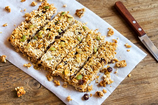 1. Healthy Quinoa Bars