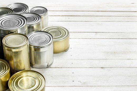 6. Canned Foods