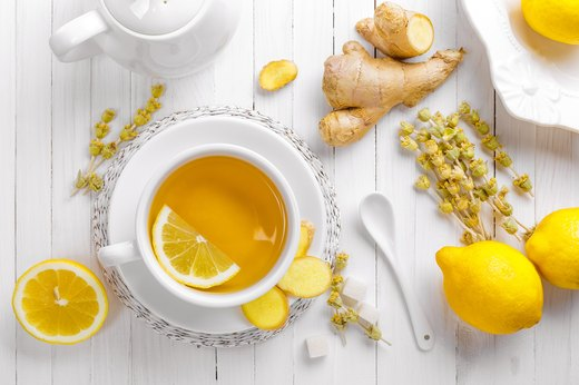 2. Start every day with hot water and a squeeze of lemon.