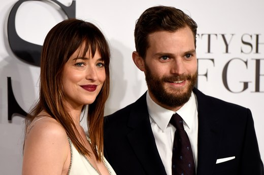 20. Jamie Dornan and Dakota Johnson