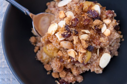 Best: Panera Bread Steel Cut Oatmeal With Almonds, Quinoa and Honey
