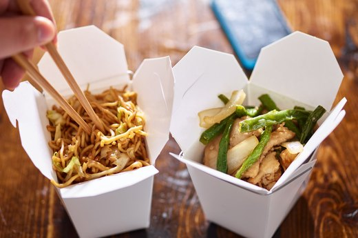 2. Takeout Chinese Food