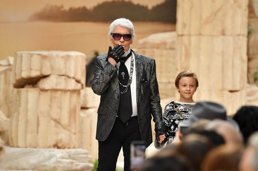 5. Karl Lagerfeld, Lunch