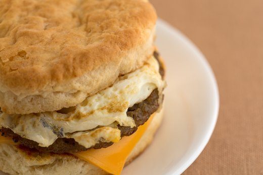 Worst: Starbucks Spicy Chorizo, Monterey Jack and Egg Breakfast Sandwich