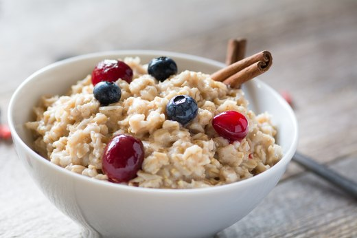 3. Oatmeal With Fruit
