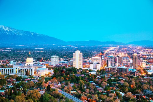 4. Least Overweight: Salt Lake City, Utah