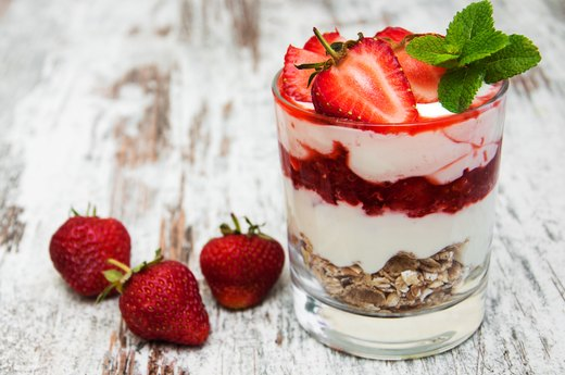 Best: Tim Hortons Vanilla Greek Yogurt Parfait