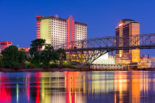 10. Shreveport, Louisiana
