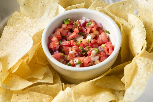 1. Skip the chips and salsa.