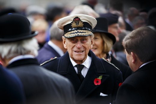4. Prince Philip Does Military Workouts